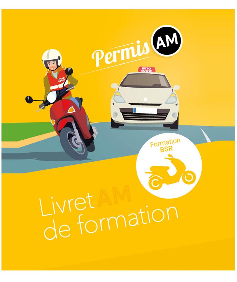 Livret de formation permis AM (cyclomoteur/scooter)